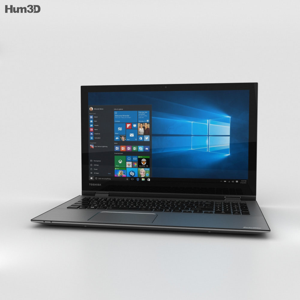 Toshiba Satellite Radius 15 3d model