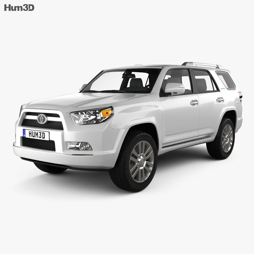 Toyota 4Runner 2011 3d model