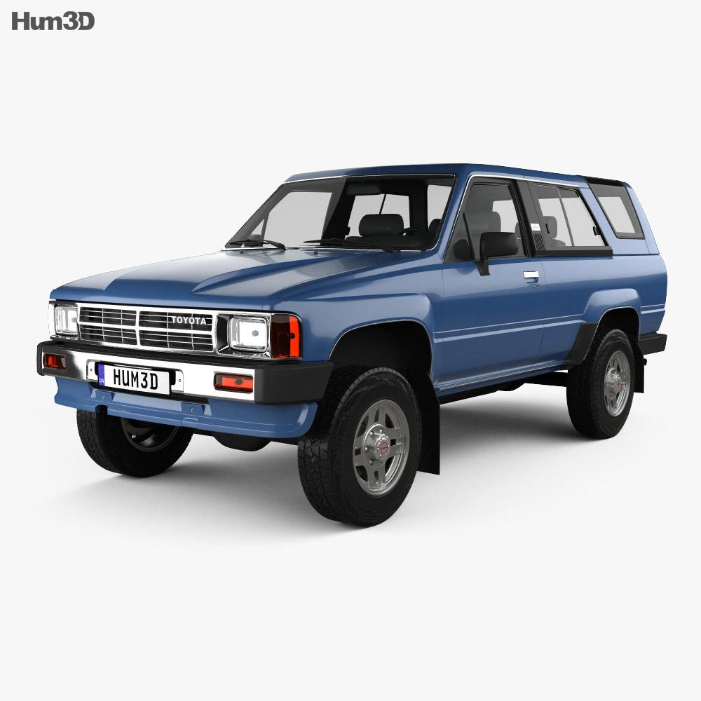 Toyota 4Runner 1986 3d model
