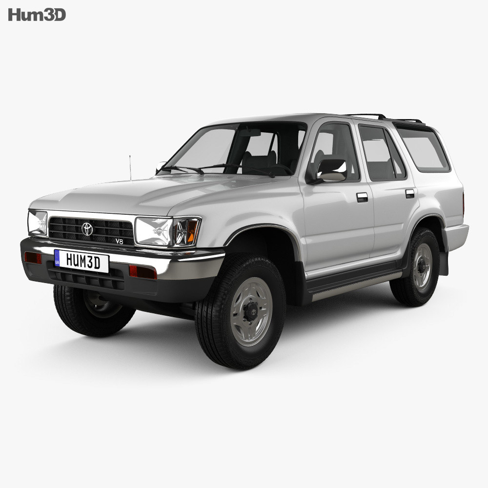 Toyota 4Runner 1992 3d model