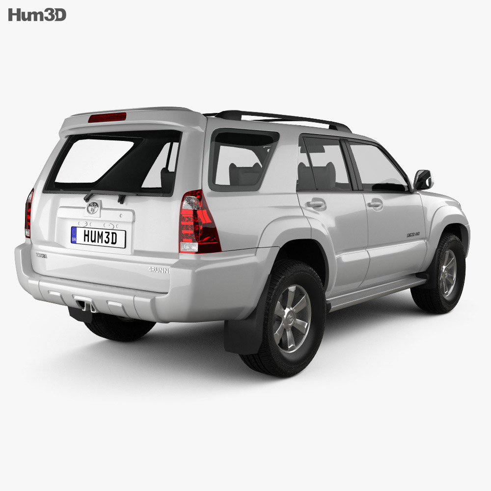 Toyota 4Runner 2005 3d model