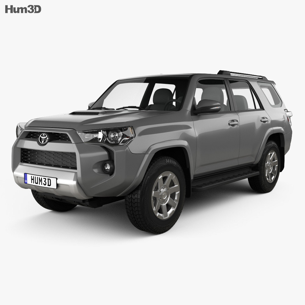 Toyota 4Runner 2013 3d model