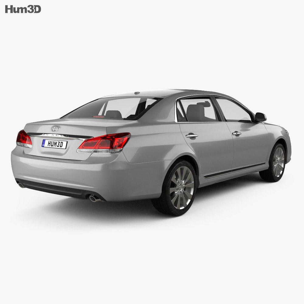 Toyota Avalon 2012 3d model