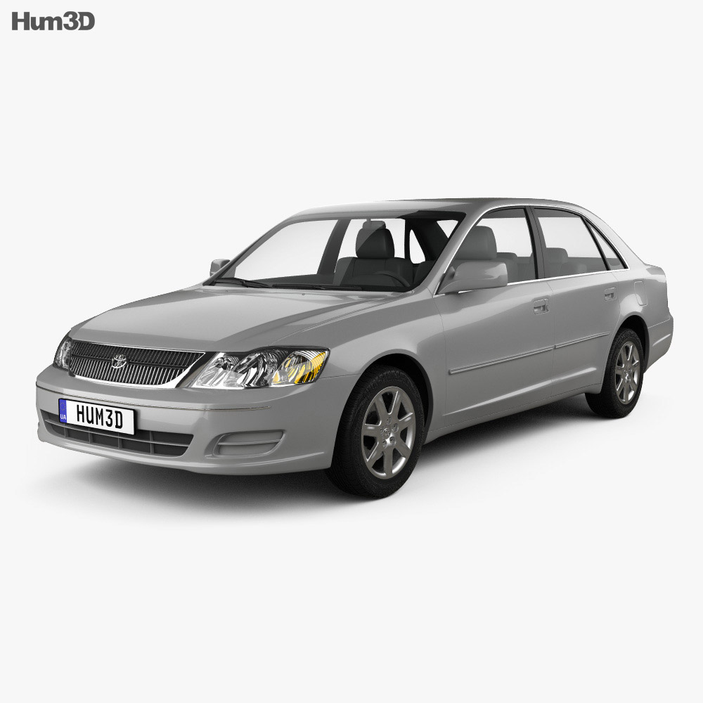 Toyota Avalon XL 2001 3d model