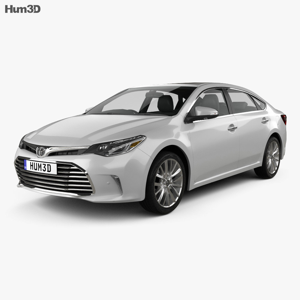 Toyota Avalon Limited 2015 3d model