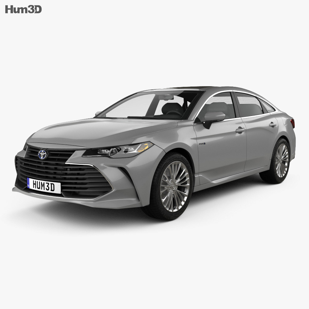 toyota avalon limited hybrid 2018 3d model hum3d. Black Bedroom Furniture Sets. Home Design Ideas