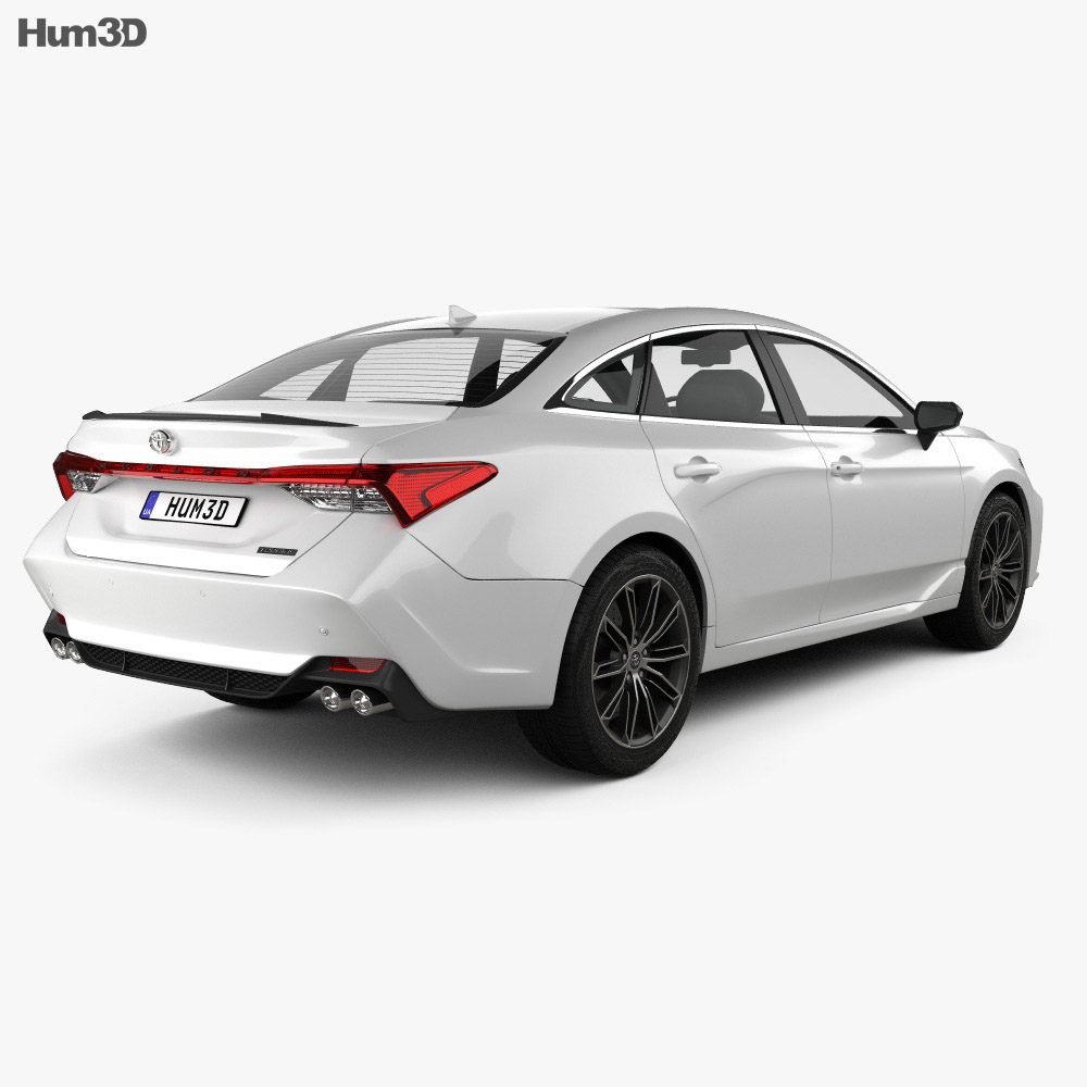 Toyota Avalon Touring 2018 3d model