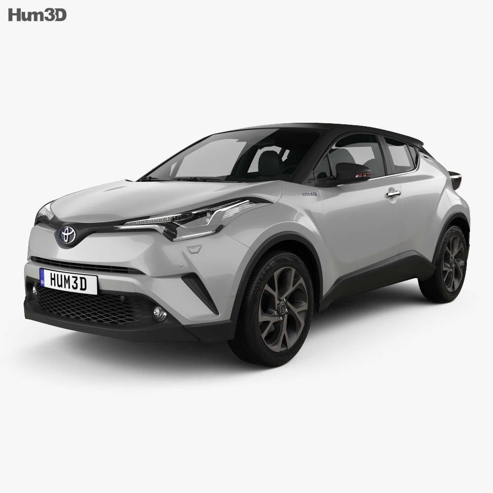 Toyota C Hr 2017 3d Model Hum3d