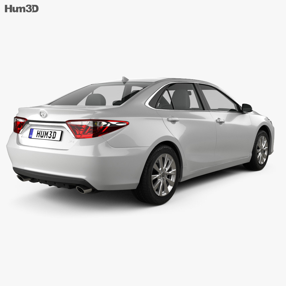 Toyota Camry XLE 2015 3d model