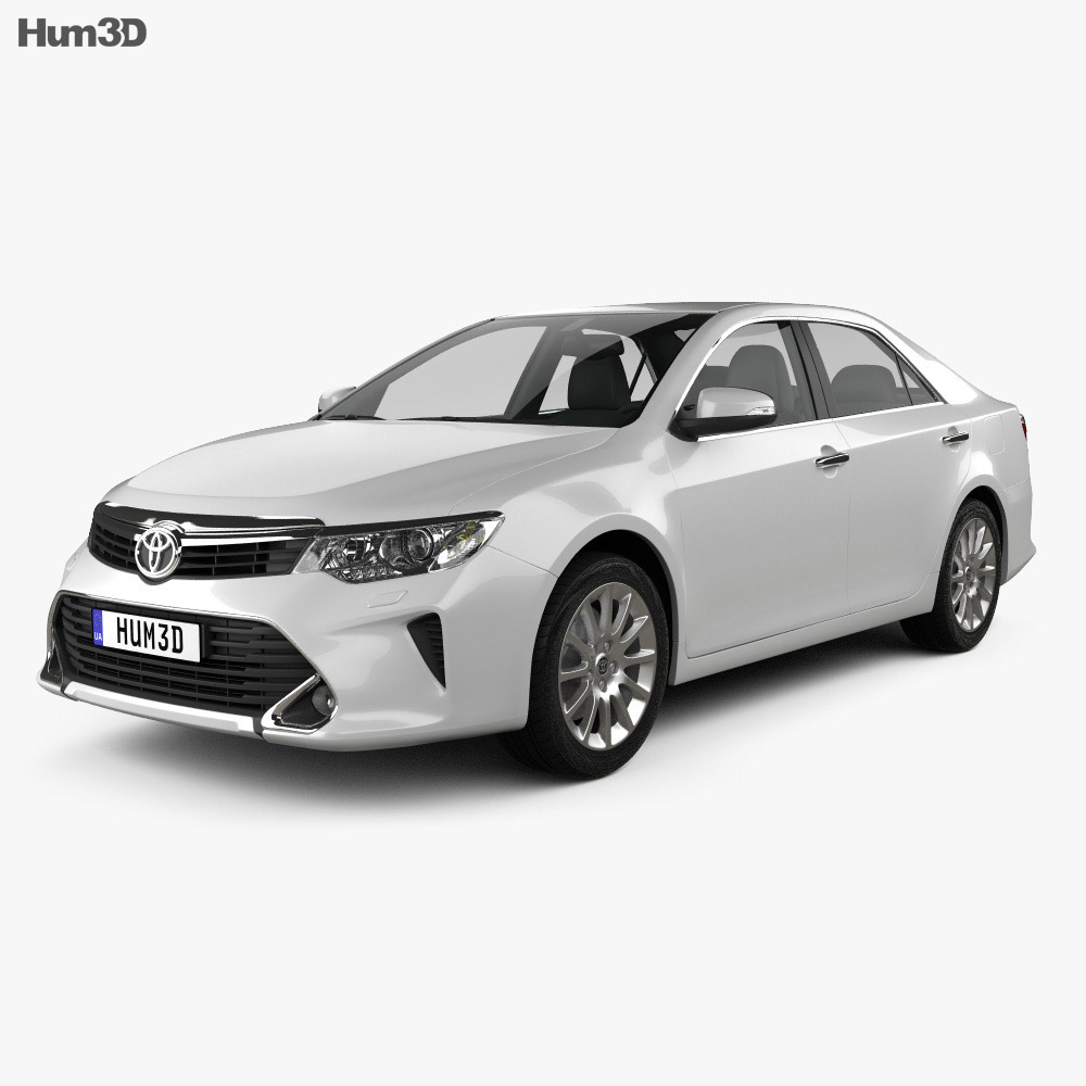 Toyota Camry Elegance Plus (CIS) 2014 3d model