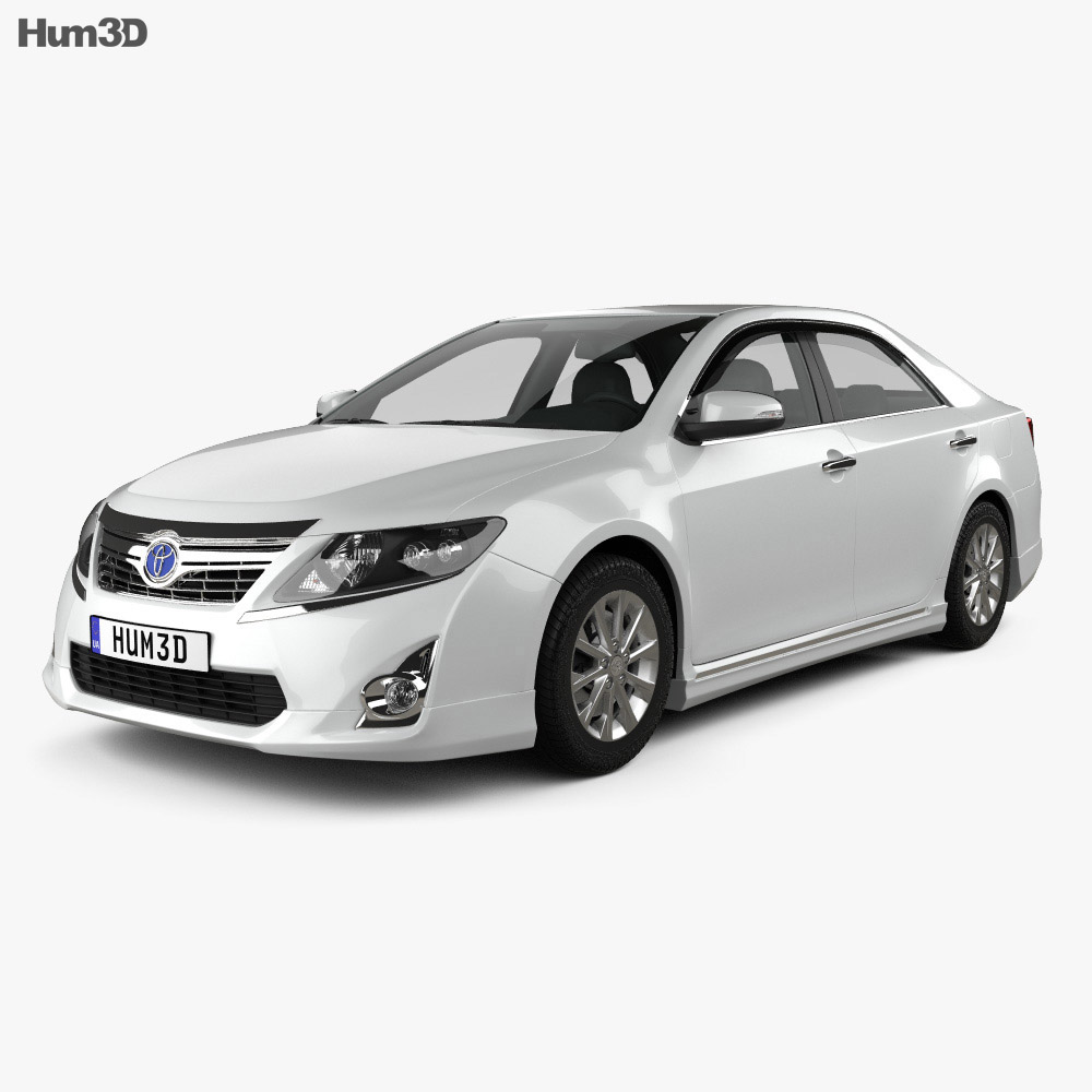 Toyota Camry Hybrid 2011 3d model
