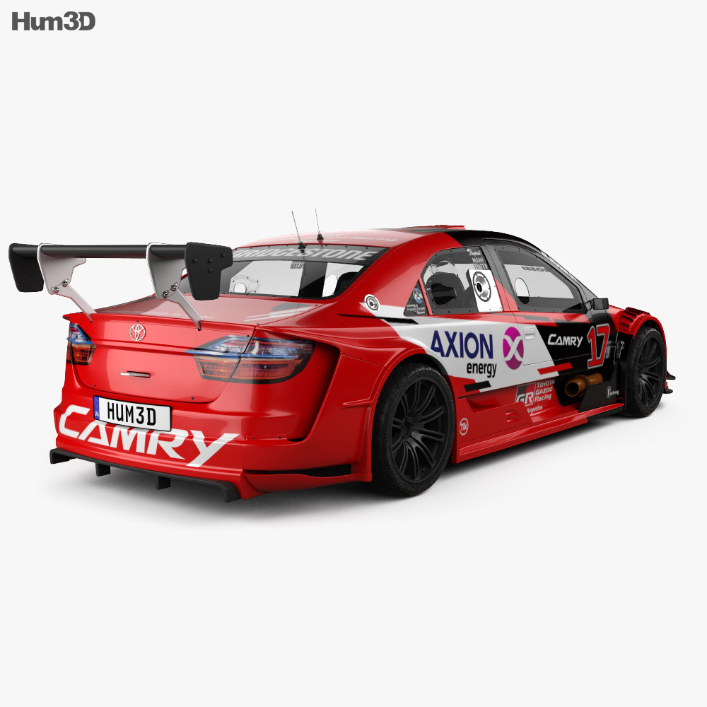 Toyota Camry Top Race 2018 3D Model