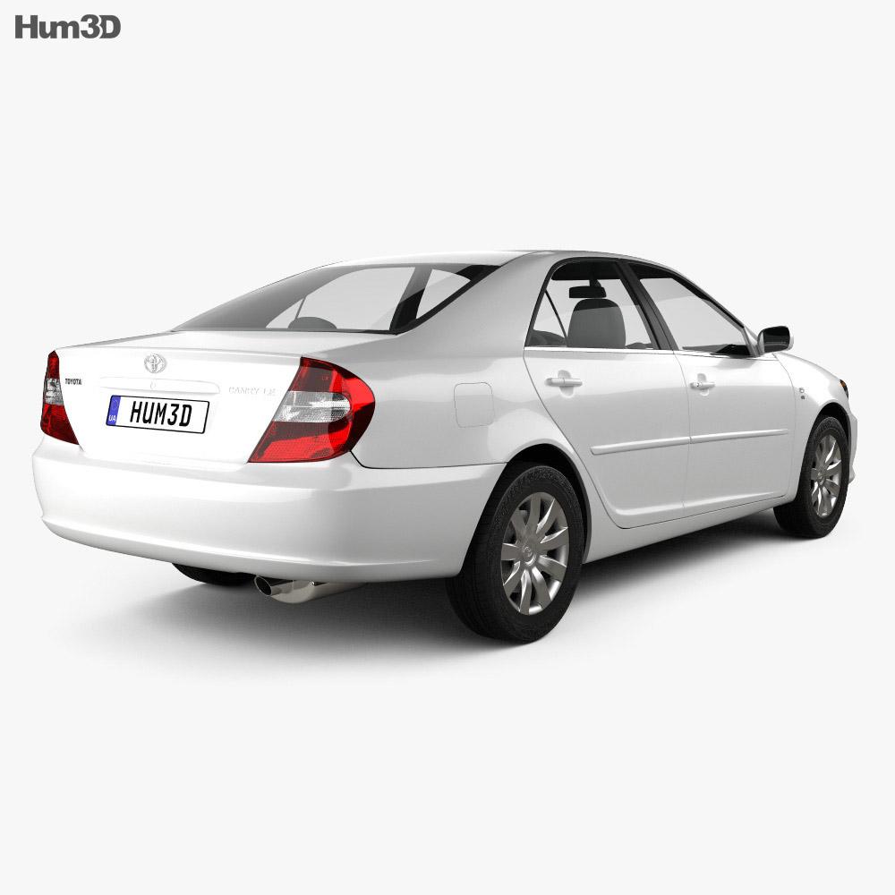Toyota Camry (XV30) 2004 3d model