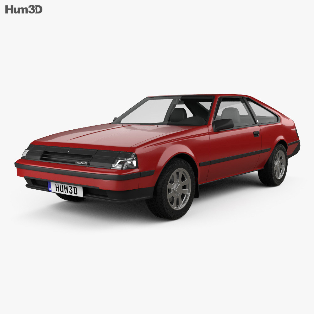 Toyota Celica liftback 1981 3d model