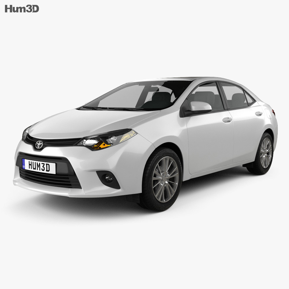 Toyota Corolla LE Eco US 2013 3d model