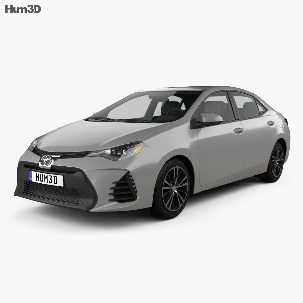 Toyota Corolla SE (US) 2013 3d model