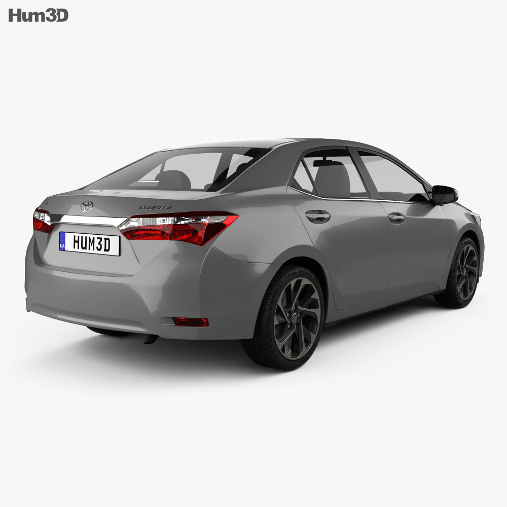 Toyota Corolla 2016 3d model