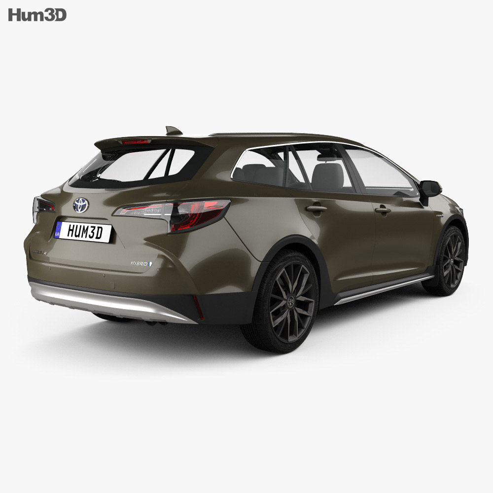 Toyota Corolla Trek 2019 3d model