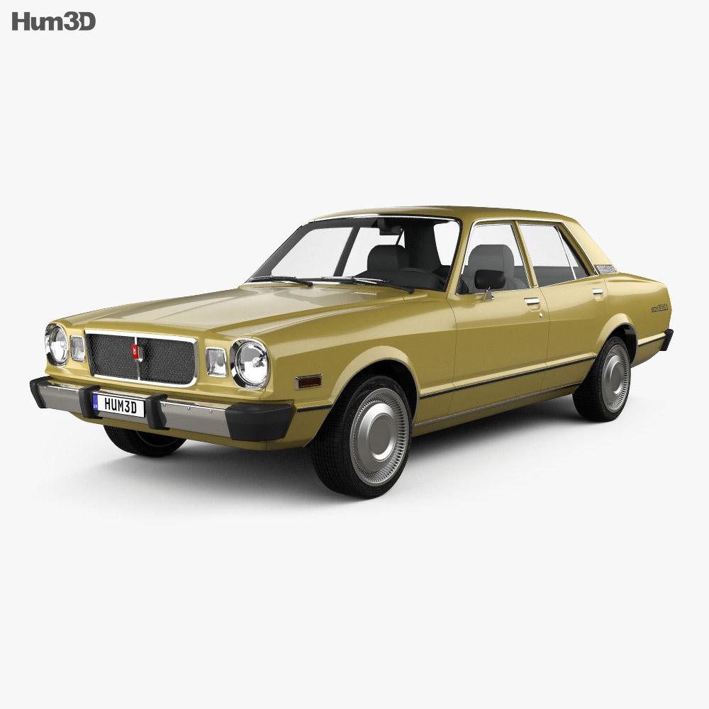 Toyota Cressida 1976 3d model