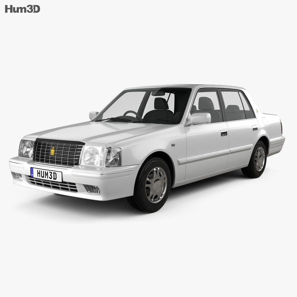 Toyota Crown Comfort 1995 3d model