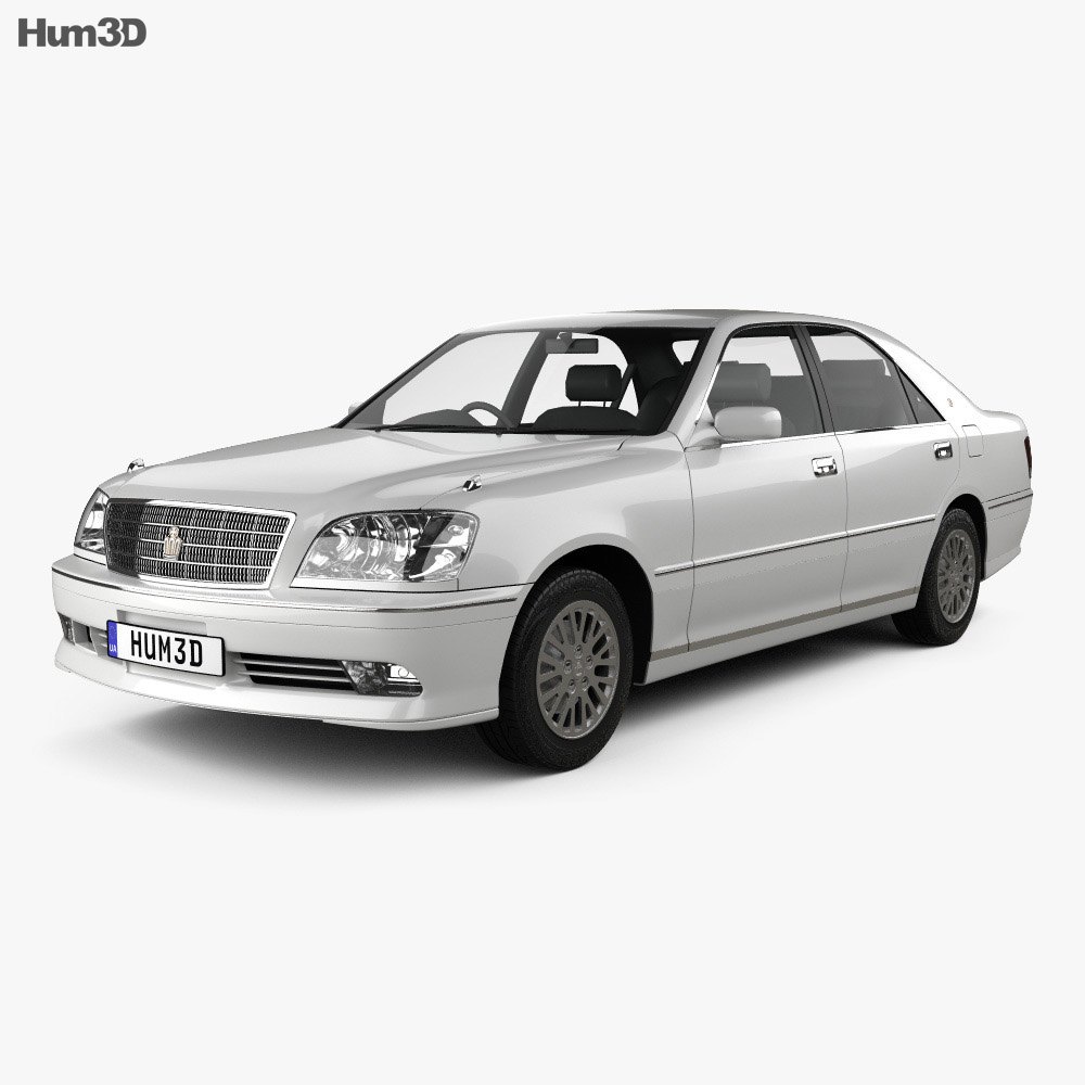 Toyota Crown Royal Saloon 2001 3d model