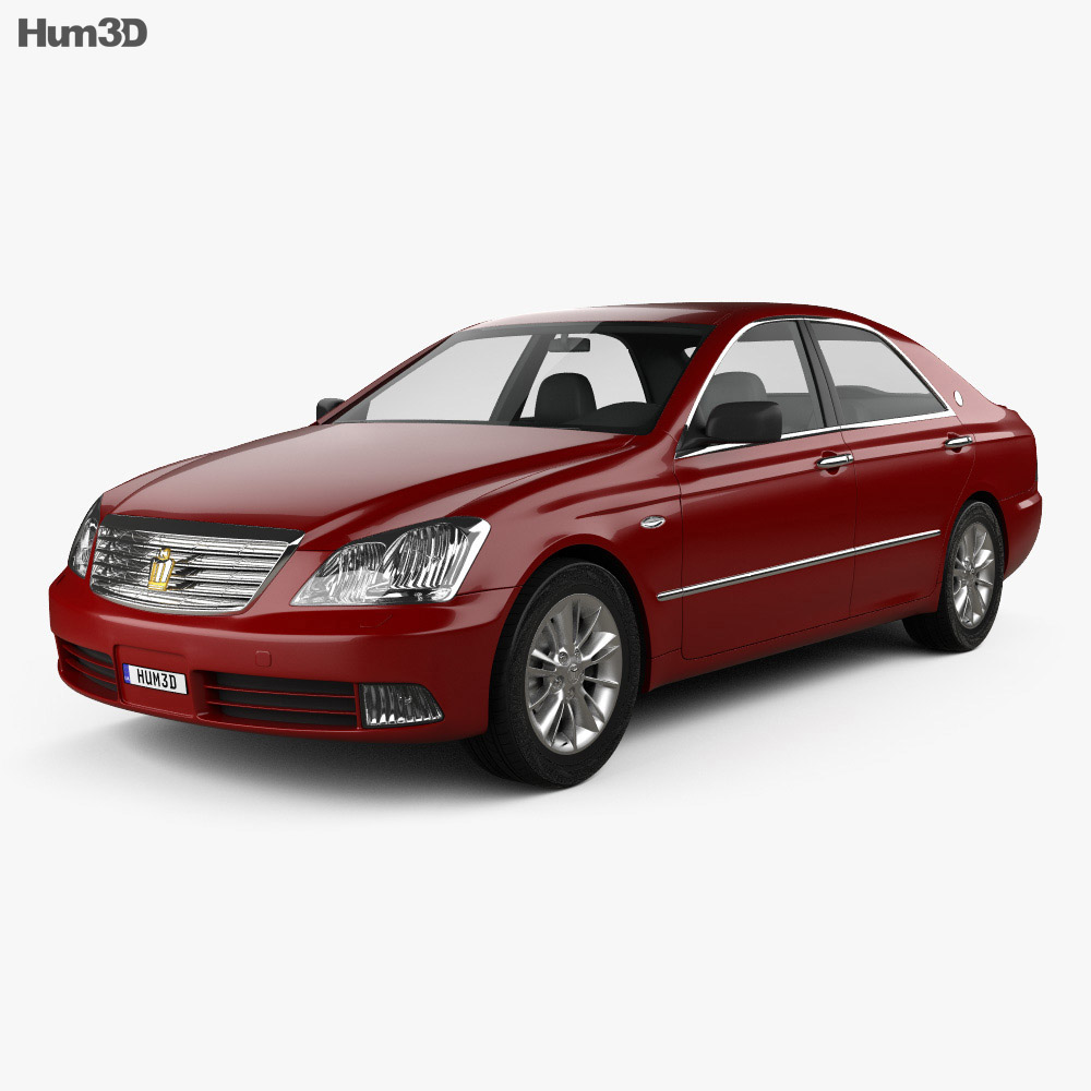 Toyota Crown Royal 2006 3d model