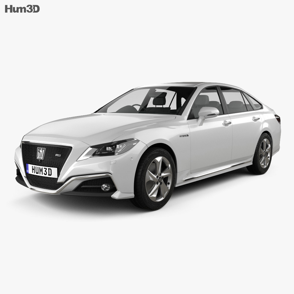 Toyota Crown RS Advance 2018 3d model