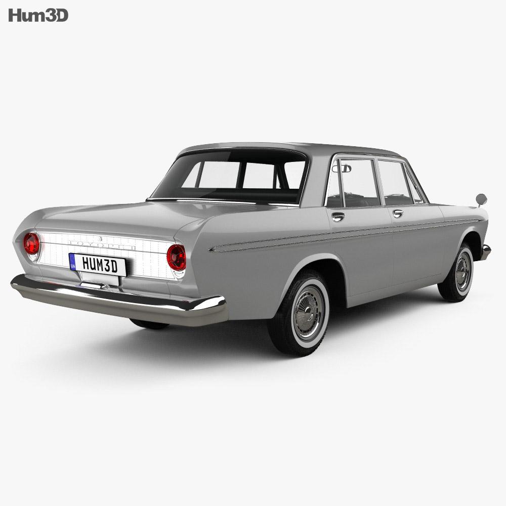 Toyota Crown 1962 3d model