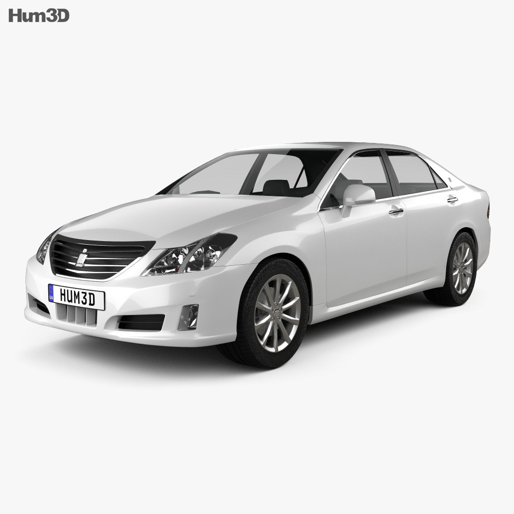 Toyota Crown Royal Saloon (S200) 2010 3d model