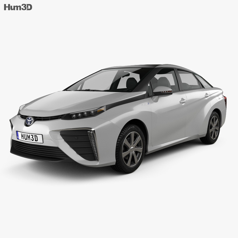 Toyota FCV 2015 3d model