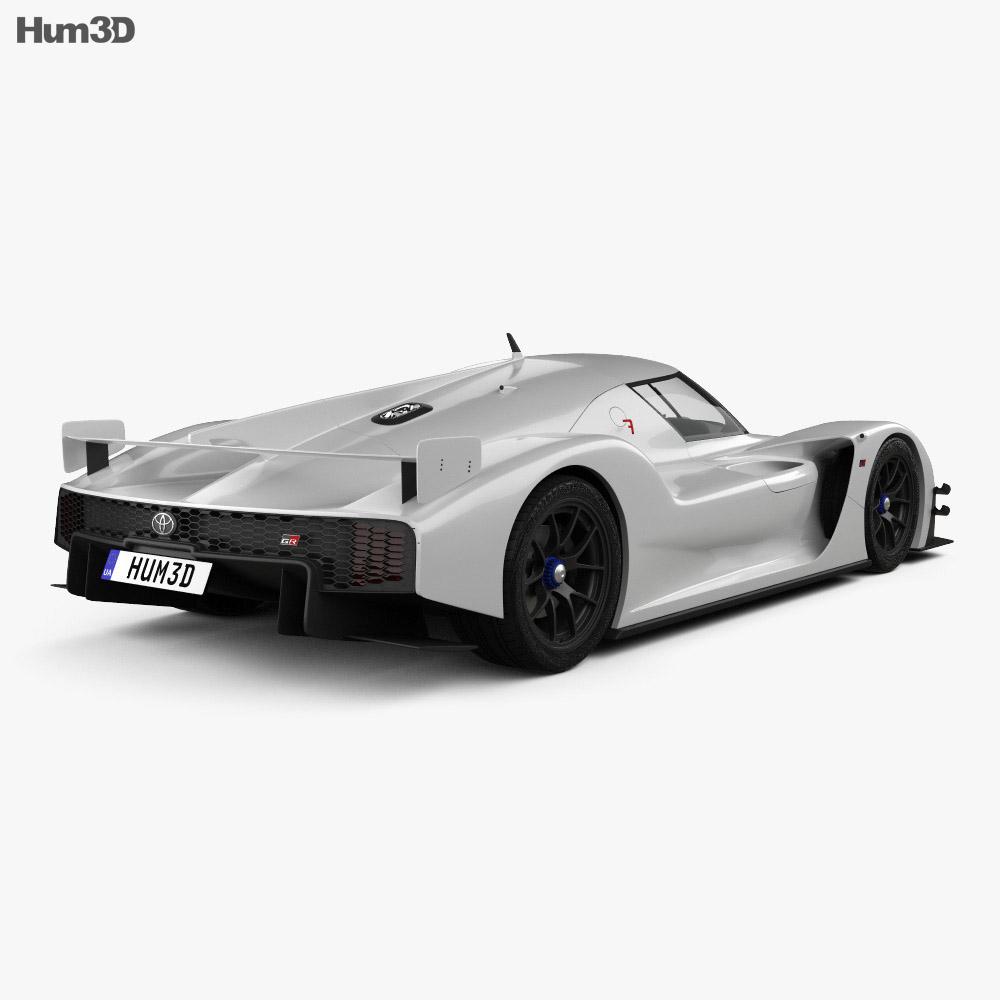 Toyota GR Super Sport 2018 3d model