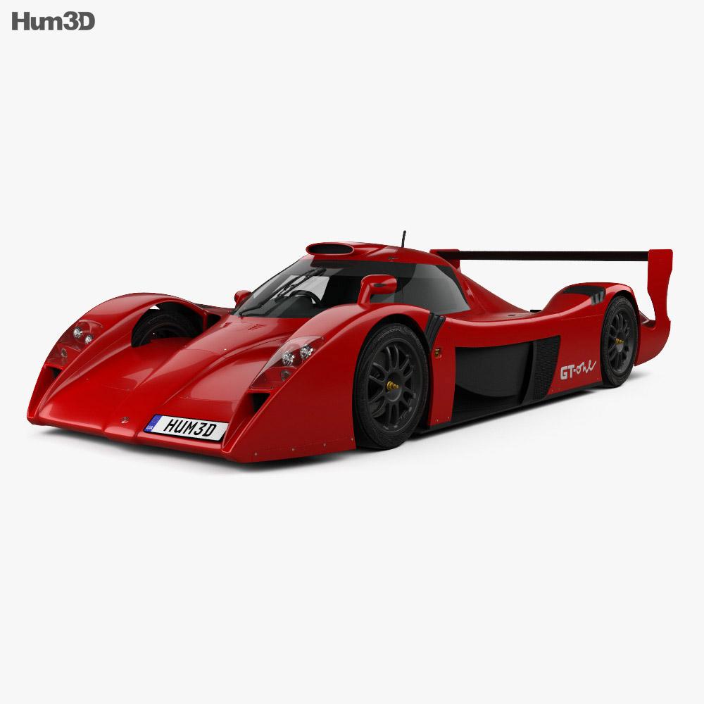 toyota gt one road car 1999 3d model vehicles on hum3d. Black Bedroom Furniture Sets. Home Design Ideas