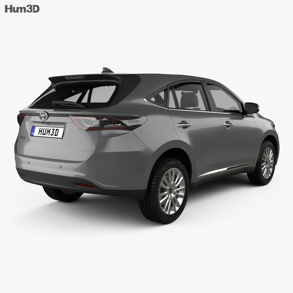 Toyota Harrier 2013 3d model