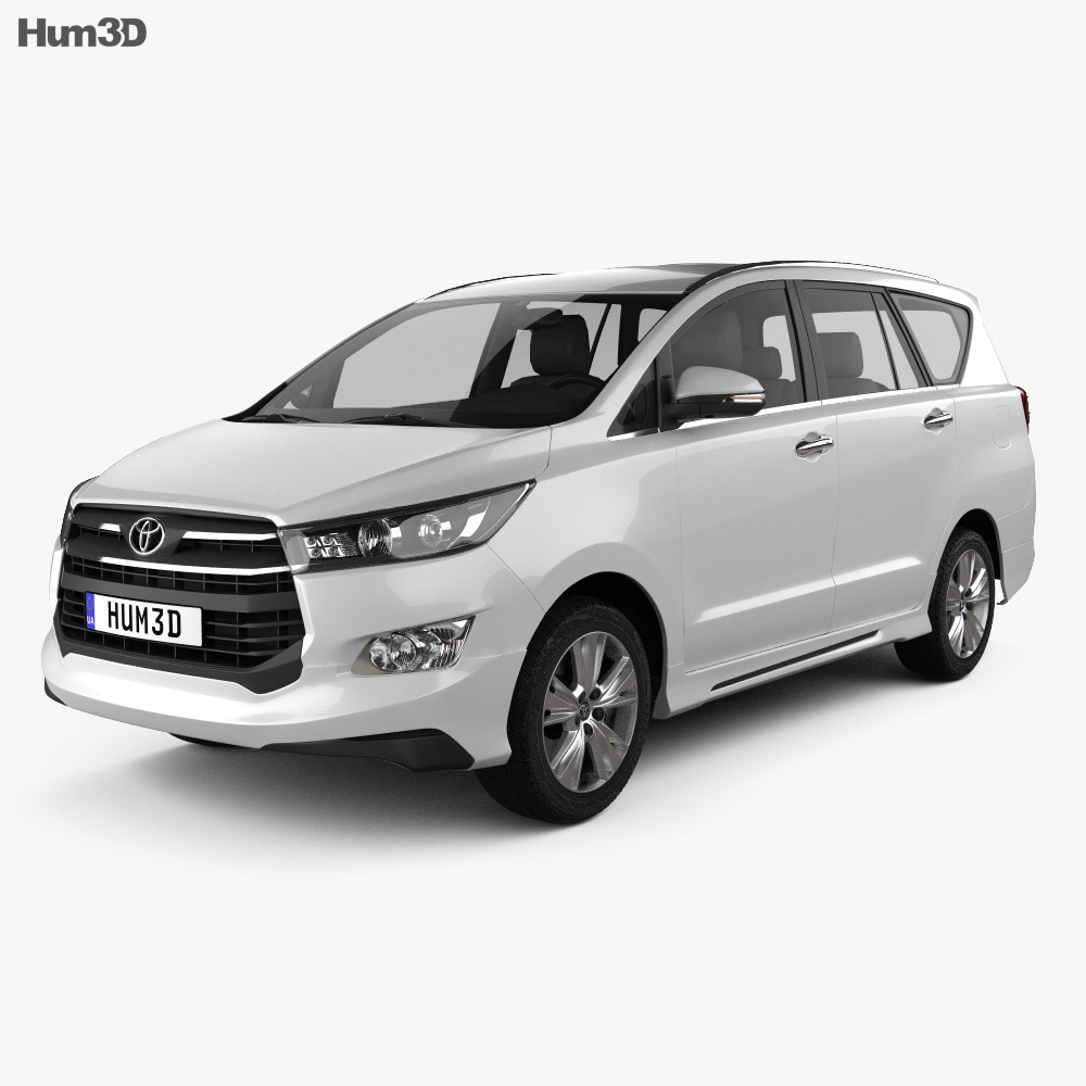 Toyota Innova Crysta (TH) 2017 3d model