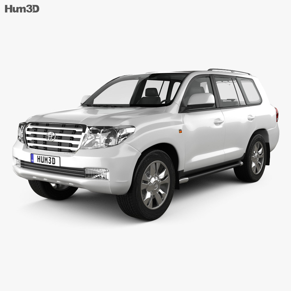 Toyota Land Cruiser 200 2010 3d model