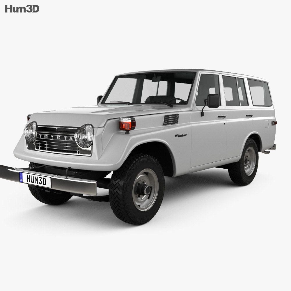 Toyota Land Cruiser (J55) 1975 3d model