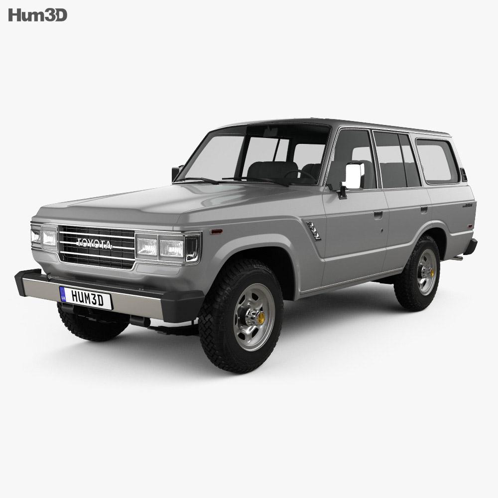 Toyota Land Cruiser (J60) US 1987 3d model