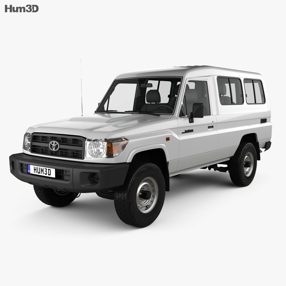 Toyota Land Cruiser (J78) 2010 3d model