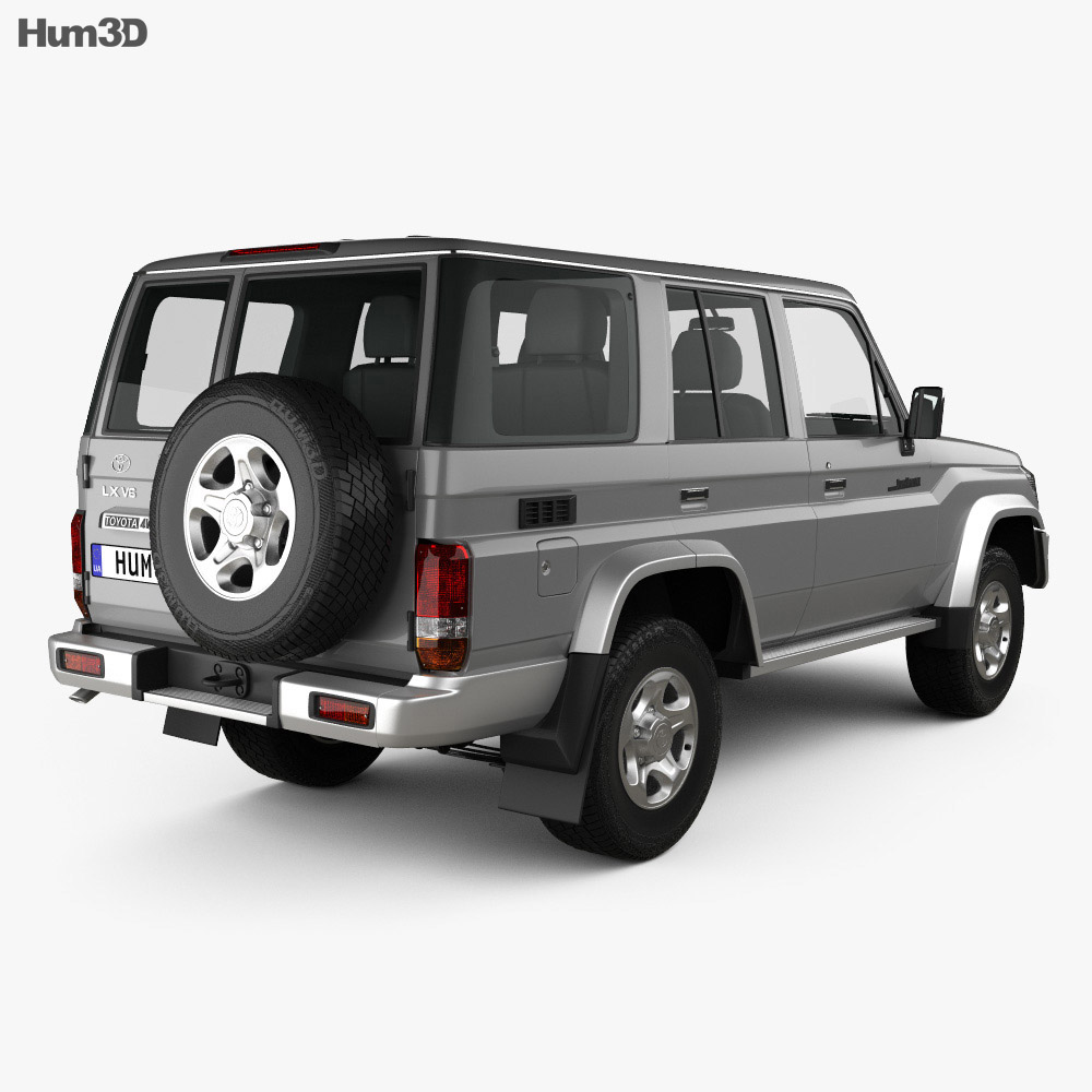 Toyota Land Cruiser 2007 3d model
