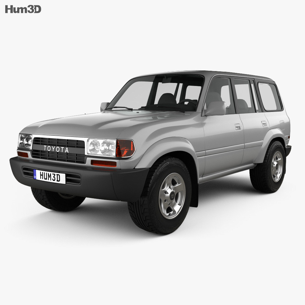 Toyota Land Cruiser (J80) 1995 3d model
