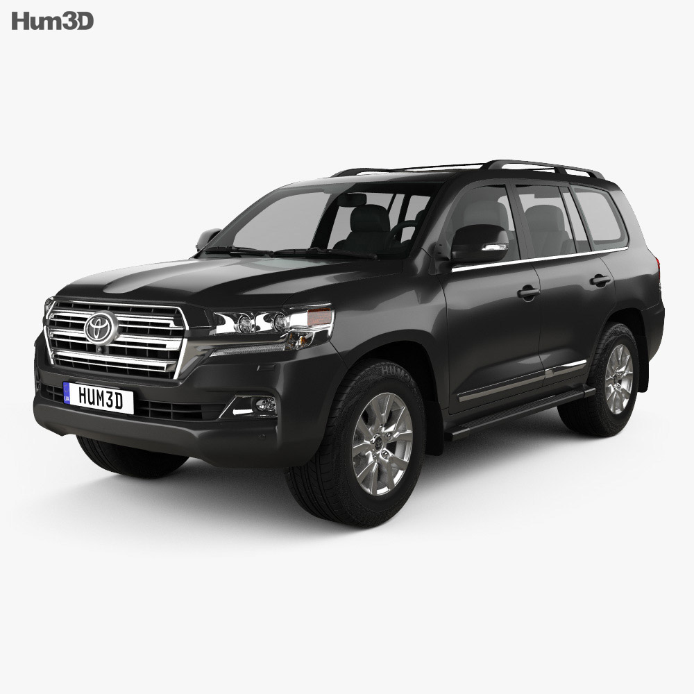 toyota land cruiser j200 2016 3d model hum3d. Black Bedroom Furniture Sets. Home Design Ideas