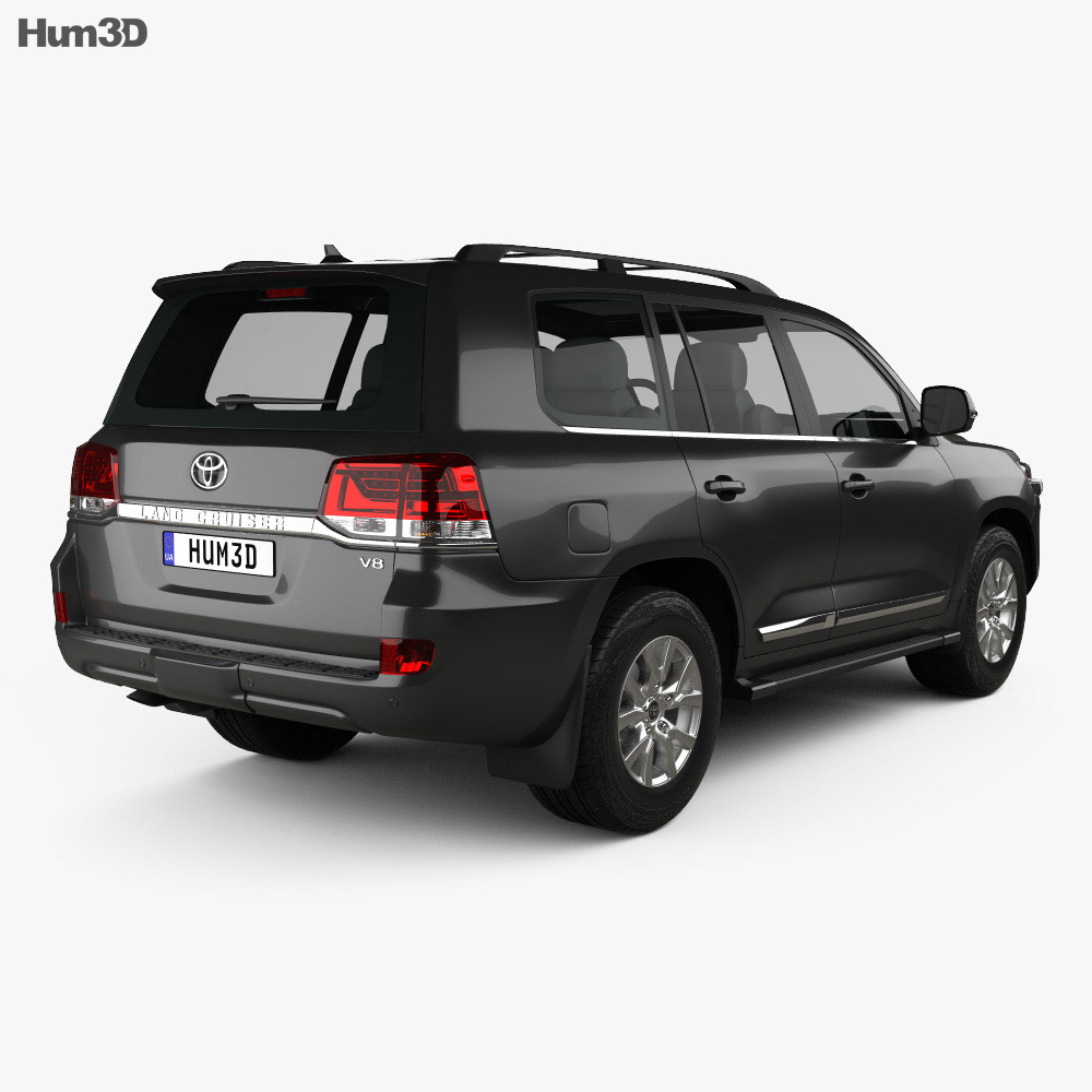 Toyota Land Cruiser (J200) 2016 3d model