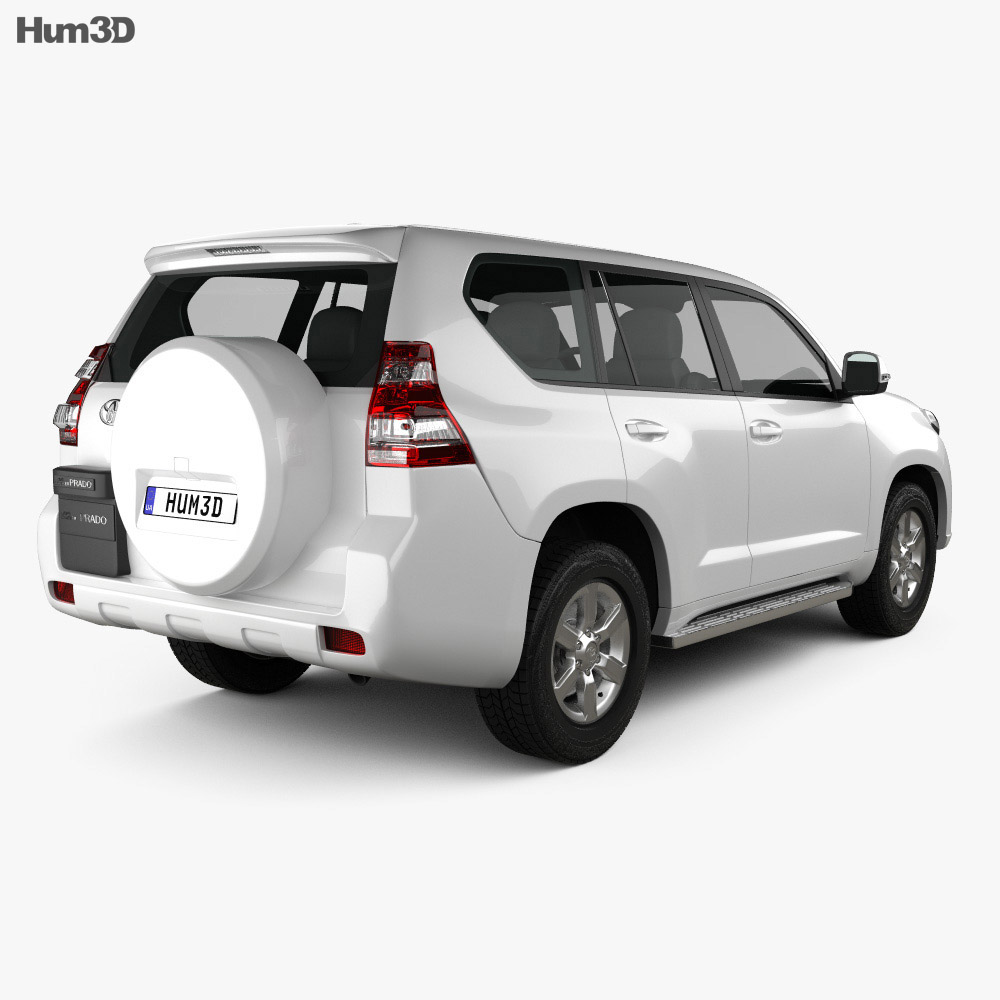 Toyota Land Cruiser Prado (J150) 5-door 2014 3d model