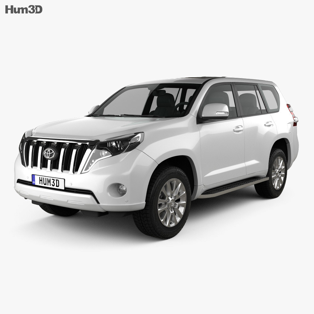 Toyota Land Cruiser Prado 5-door EU-spec 2013 3d model