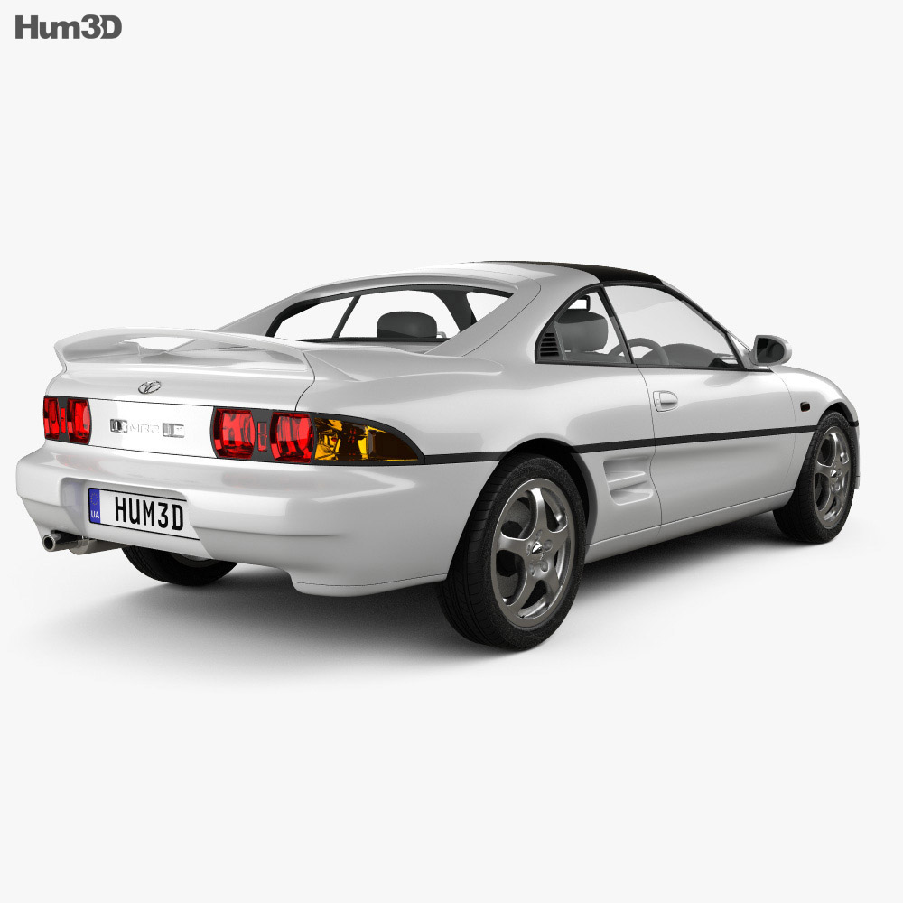 Toyota MR2 1990 3d model