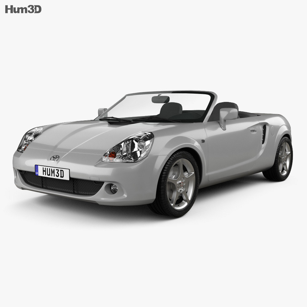 Toyota MR2 Roadster 1999 3d model