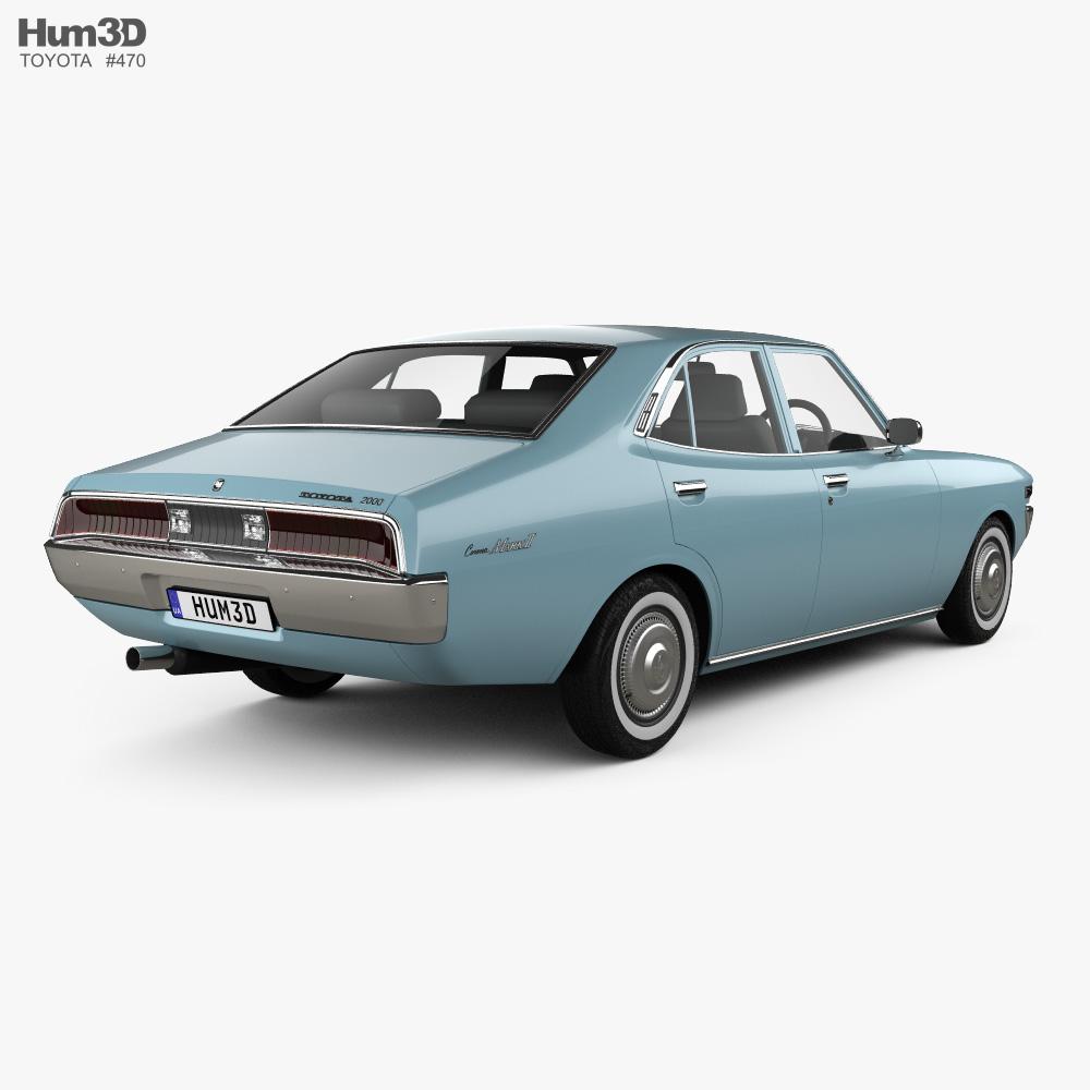 Toyota Mark II 1972 3d model