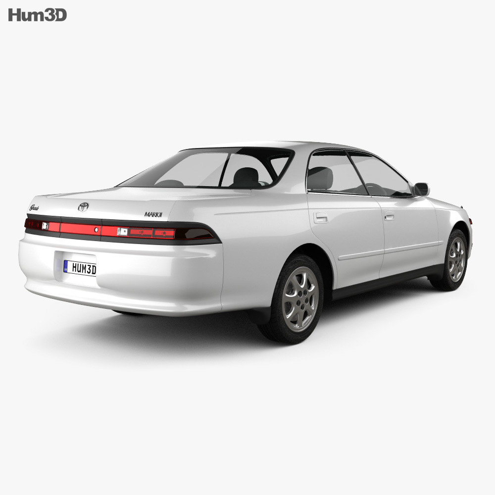 Toyota Mark II (X90) 1992 3d model