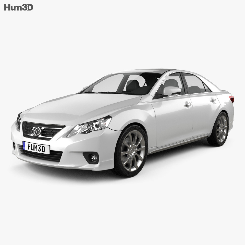 Toyota Mark X 2012 3d model