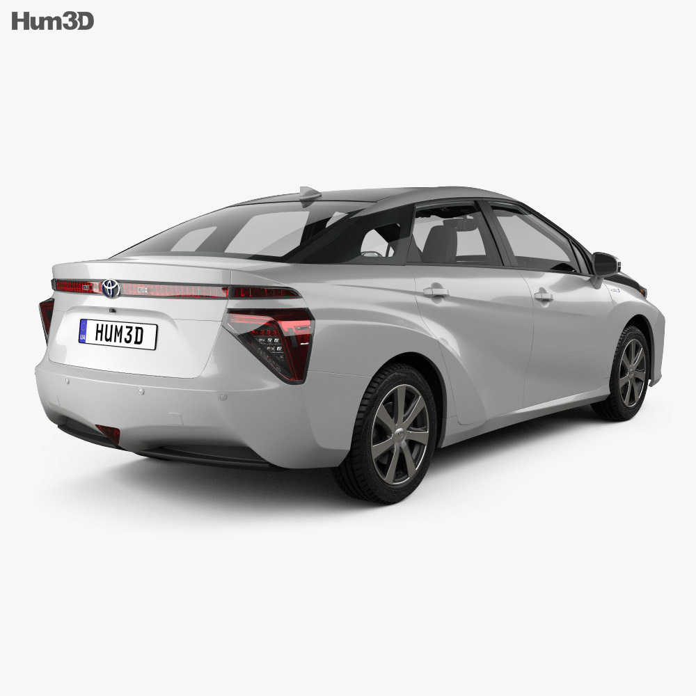 Toyota Mirai with HQ interior 2014 3d model